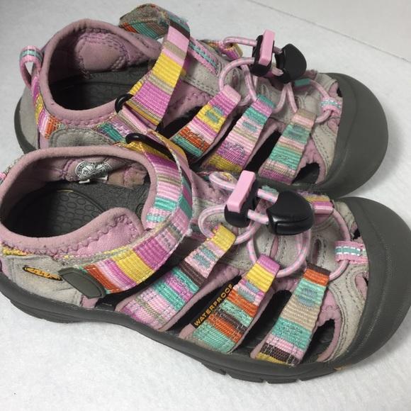 610bc4208468 Keen Other - KEEN Rainbow Newport Sandals Sz 12 Girls